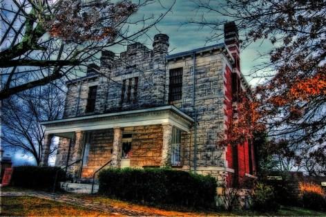 Old Pickens County Jail in Jasper, GA