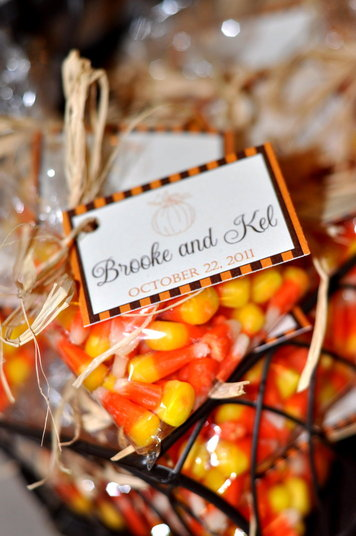 Fall wedding favors southern productions mississippi wedding fall wedding favors junglespirit Image collections