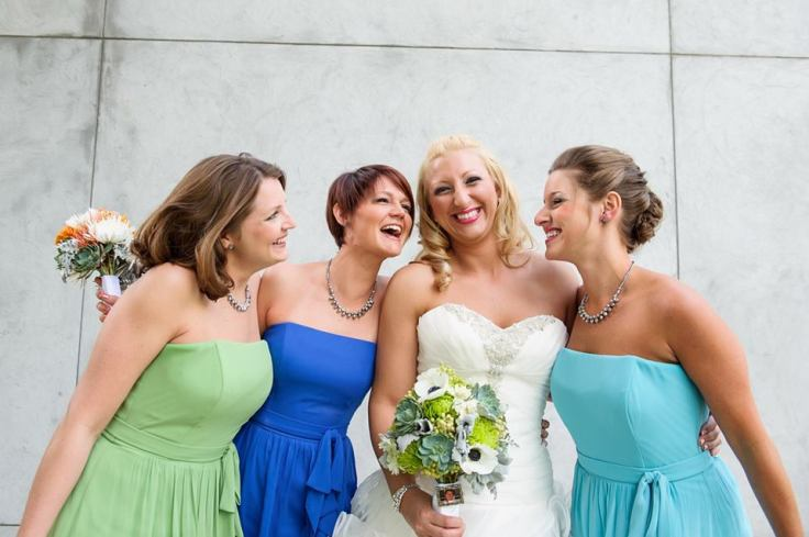 blue-and-green-bridesmaids-dresses