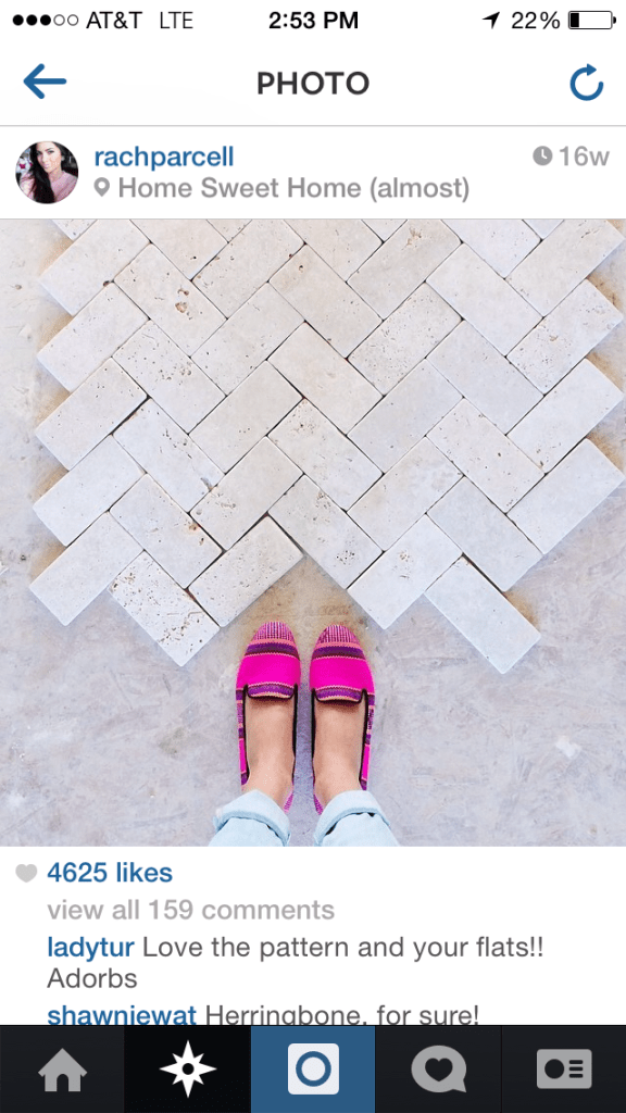 home travertine floors