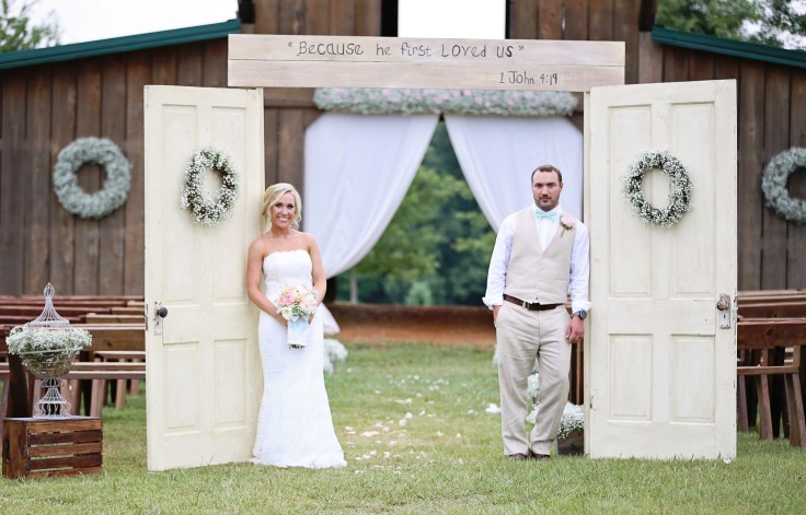 lazy acres wedding