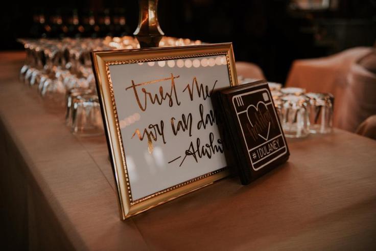 Jet Inspired Fall Wedding