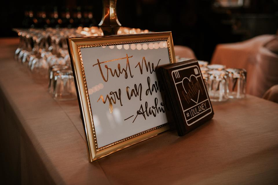 Jet Inspired Fall Wedding