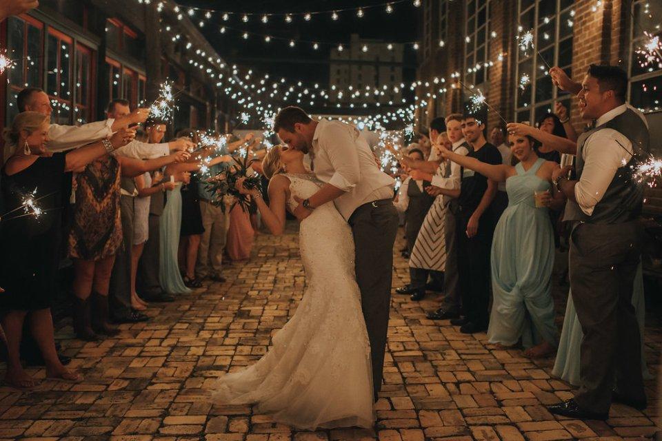 wedding sparklers meridian ms