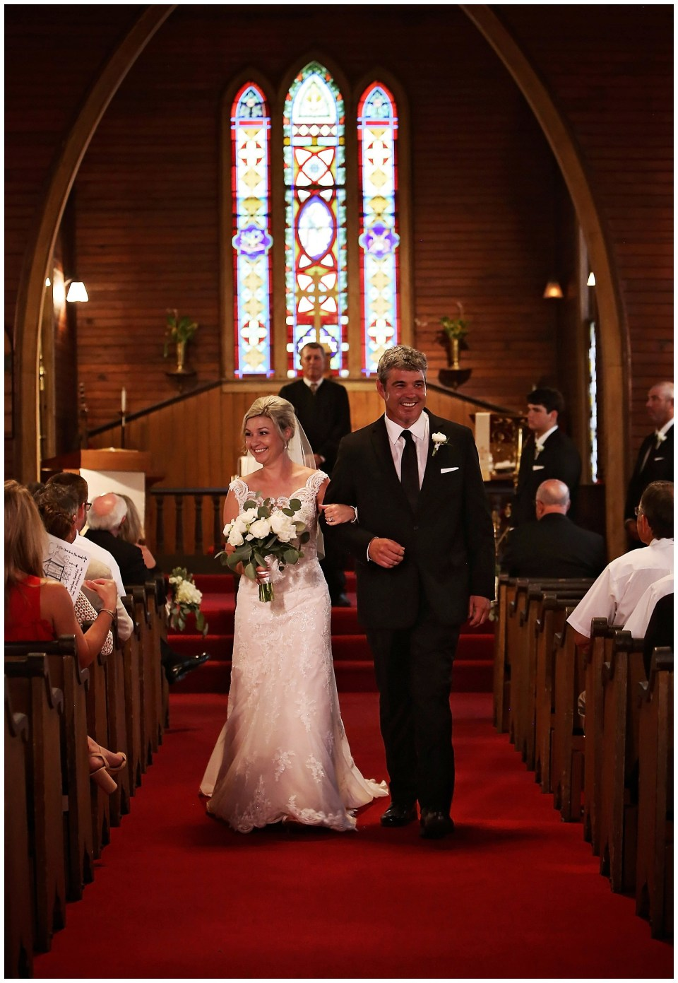 St Mary's Episcopal Church Wedding Enterprise Mississippi