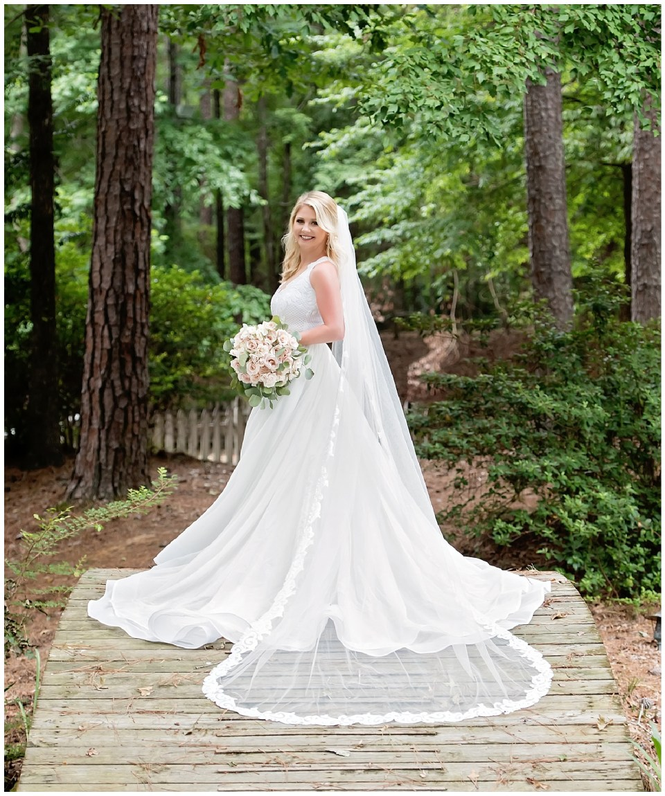 Mississippi Outdoor Bridal Portraits