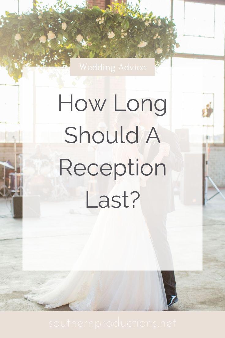 How Long Should a Reception Last