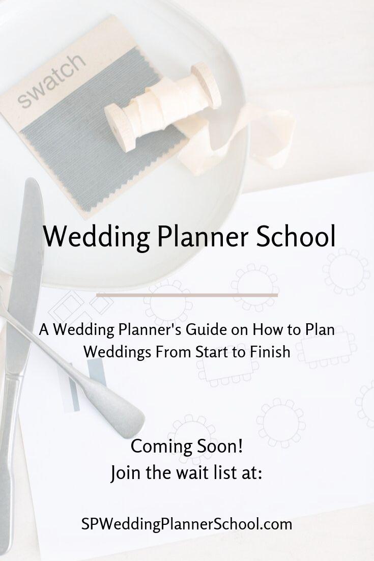Wedding Planner School