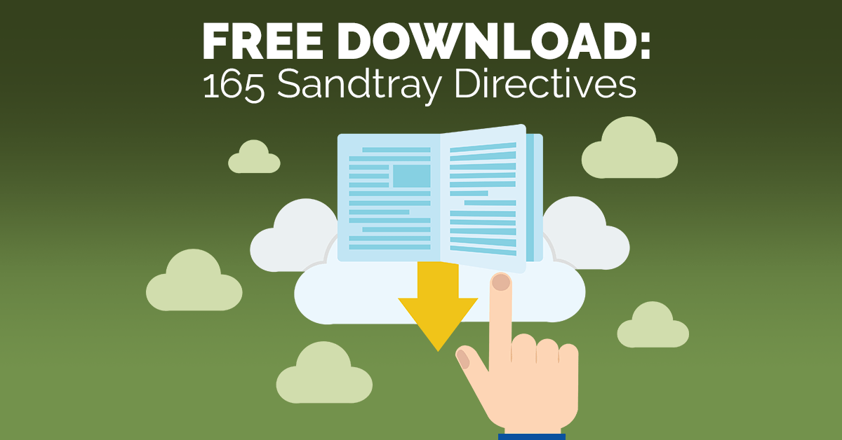 Free Download 165 Sandtray Directives