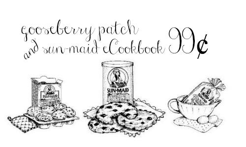 Amazon Deal: Gooseberry Patch & Sun-Maid ECookbook, 99