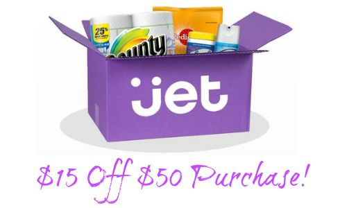 Jet.com Coupon Code: $15 Off $50 Purchase :: Southern Savers