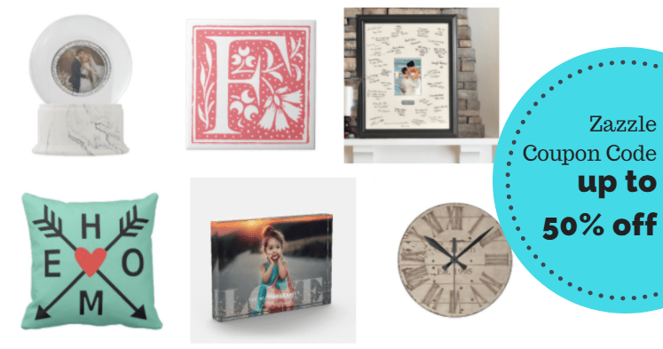Zazzle Coupon Code: 50% Off Pillows, Blankets, & More