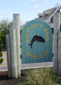 Gosman's Dock sign