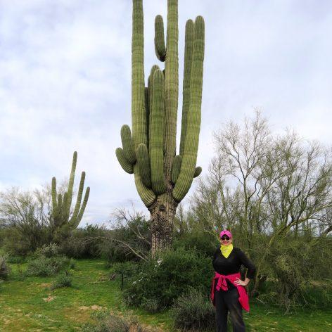 Me and a saguaro