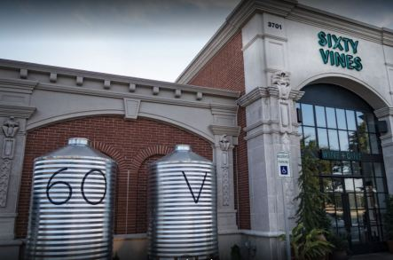 front of Sixty Vines