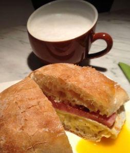 Ham & Egg sandwich