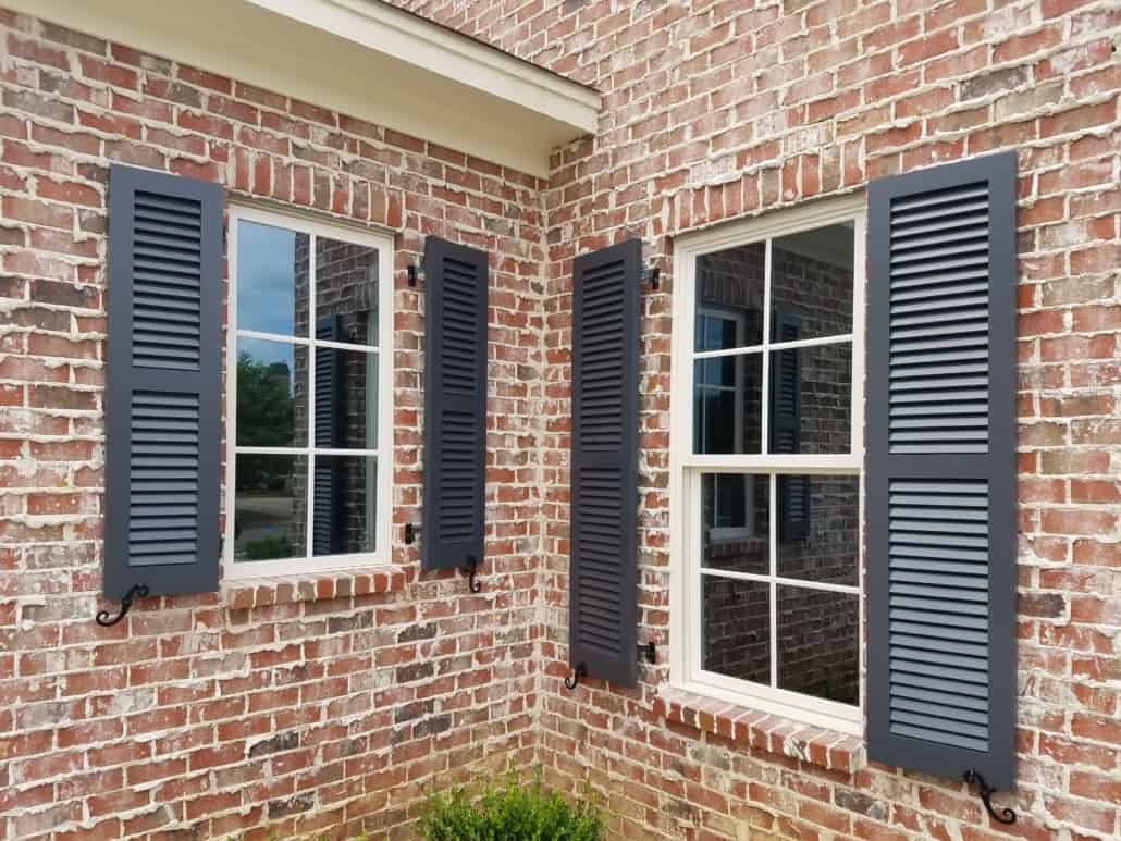 Exterior Shutters Custom Made By Southern Shutter Home