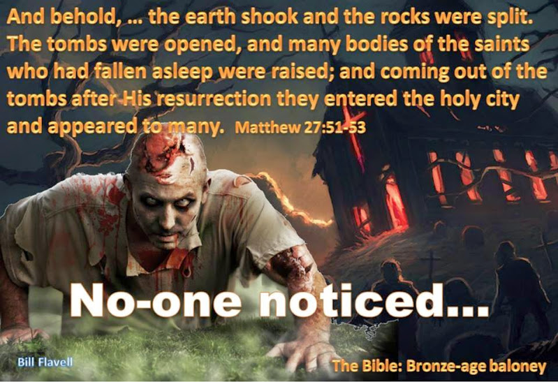 Zombies in the Bible