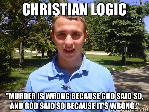 Christian Logic Euthyphro Dilemma