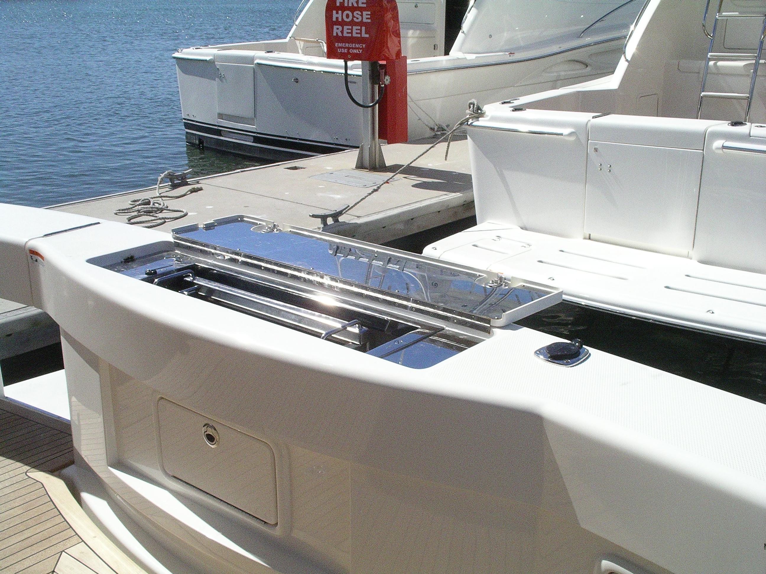 Stainless Steel Marine Grade BBQ Maritime & Riviera Boats