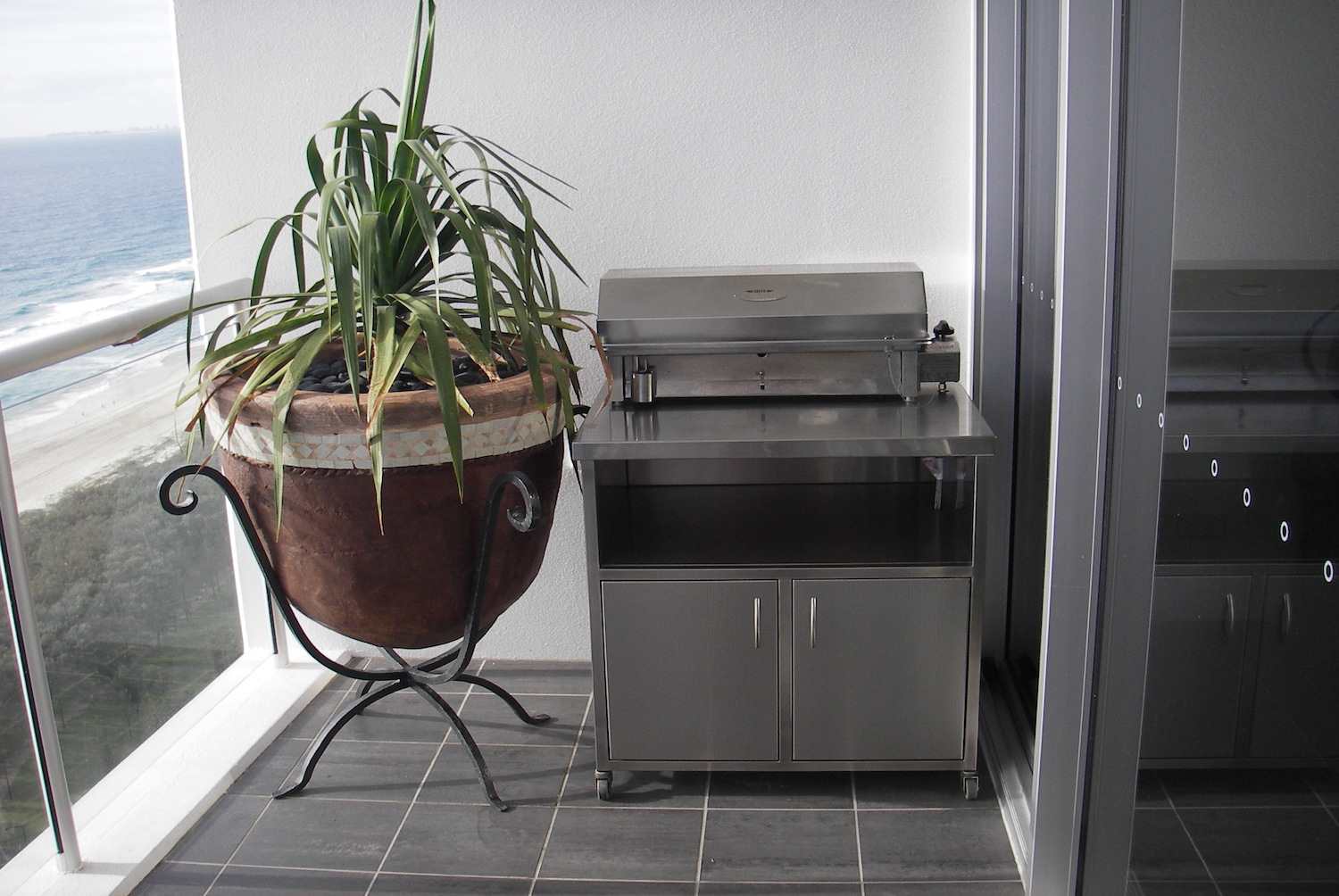 Stainless Steel Balcony BBQ-Cookout Residential BBQ