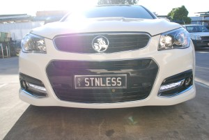 Stainless Steel Number Plate Surrounds
