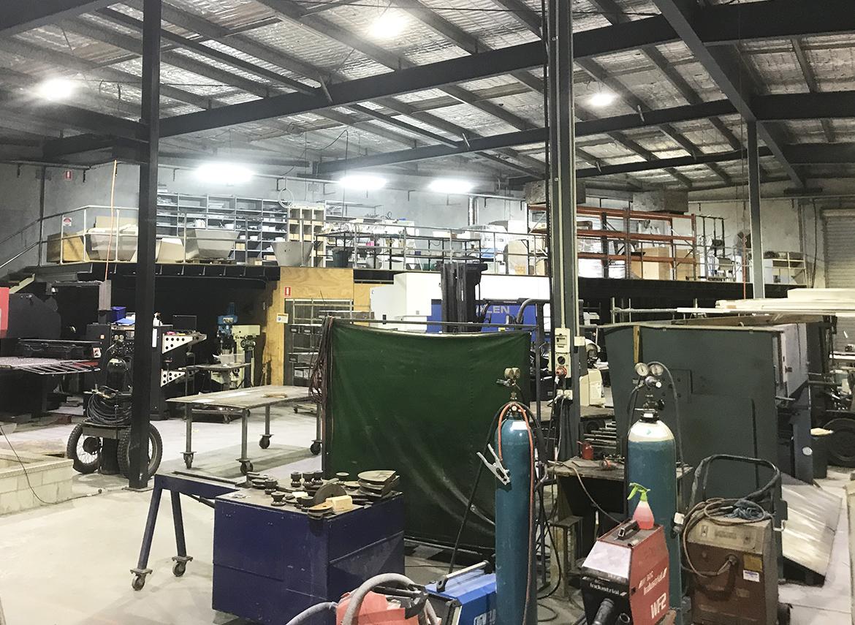 Southern Stainless Factory - Aqualuma Highbar LED's - 2