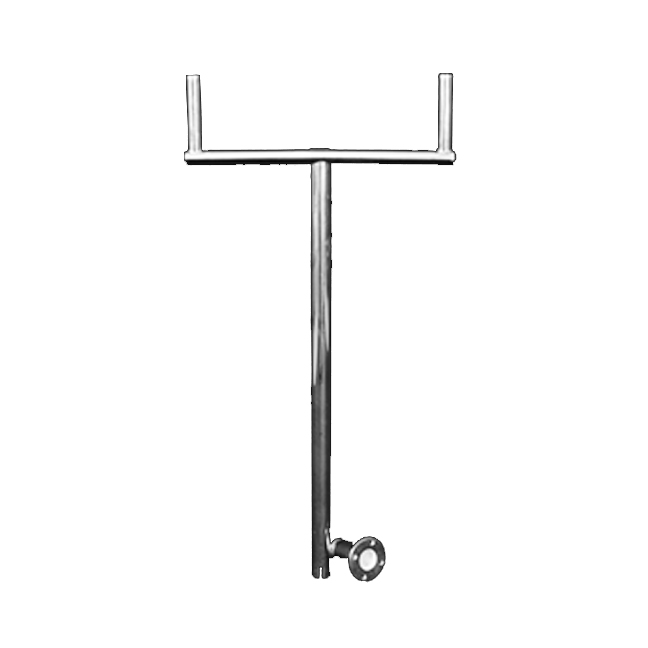 Cookout BBQ's stainless steel BBQ Removable T Bar Mount