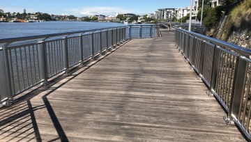 Commercial Project: Catalina Riverwalk, Brisbane
