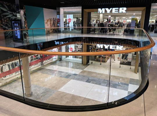 Myer Central Voids-Robina Town Centre 2018