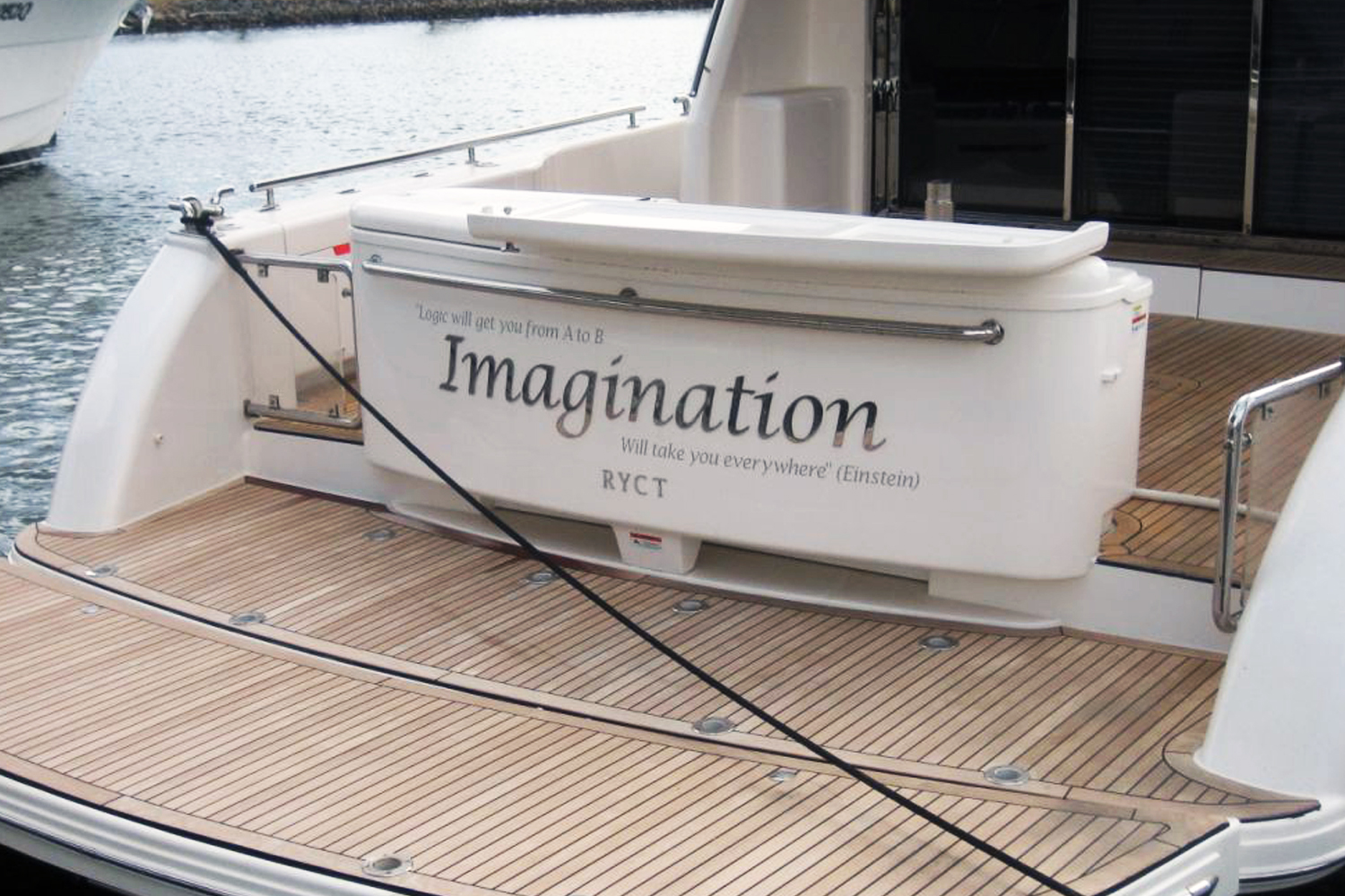Stainless Boat Name-Imagination