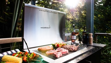 Ingenious design. Incredible taste. The Infinity BBQ.