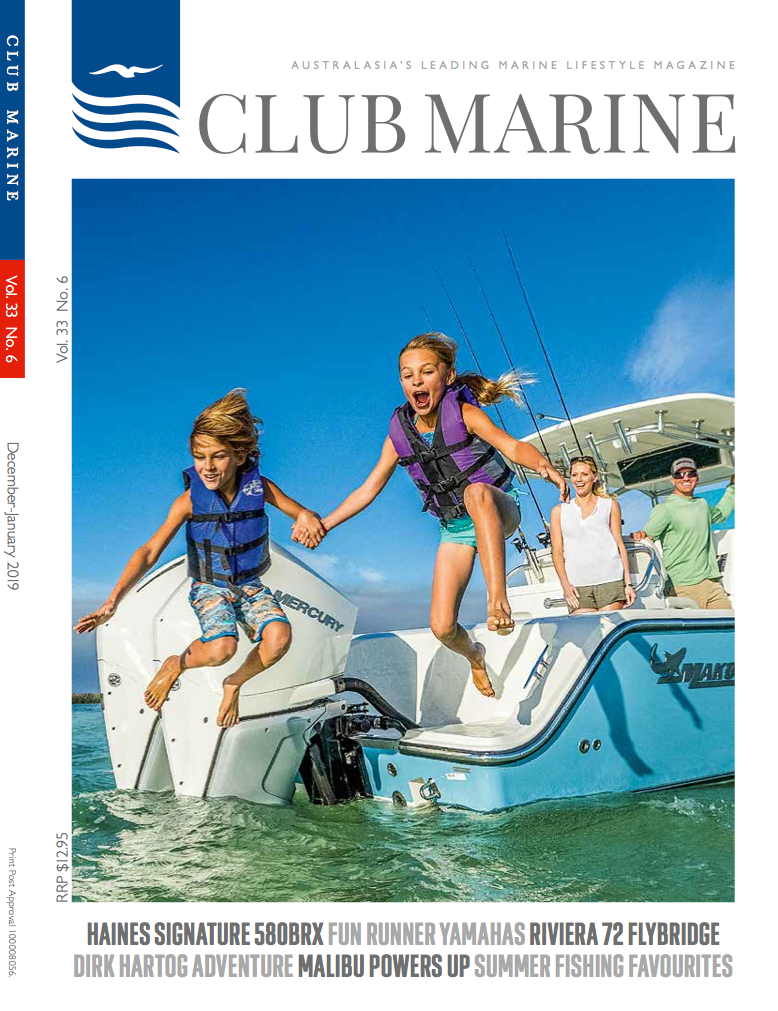 Club Marine Magazine-Cookout BBQ Culinary Cruising-Front Cover