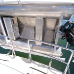 Stainless tender mounts, rod holders, welded pins and chain gates