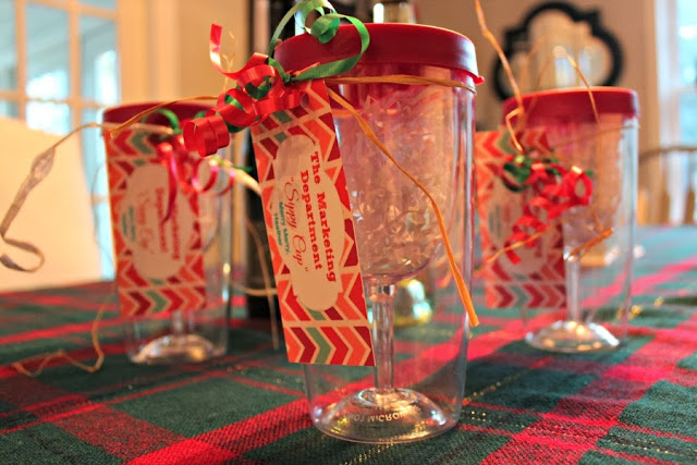 12 Days Of Christmas Day 9 Wine Glass Tumbler Gift Idea