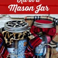Holiday Survival Kit in a Mason Jar