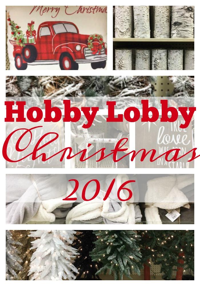 christmas decor at hobby lobby hobby