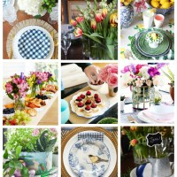 Spring Progressive Dinner Party - Easy DIY Napkins from Fabric