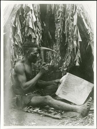 Tallador de taburete Zande