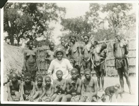 Zande prince and family
