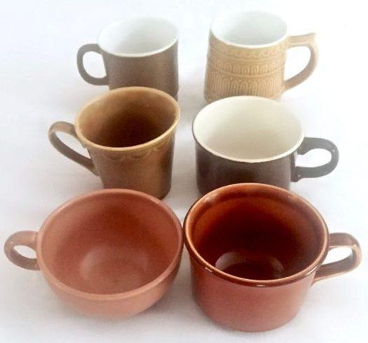 Southern Vintage Table Vintage Mugs
