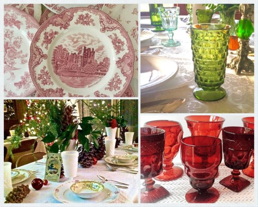 Southern Vintage Table Holiday Tables
