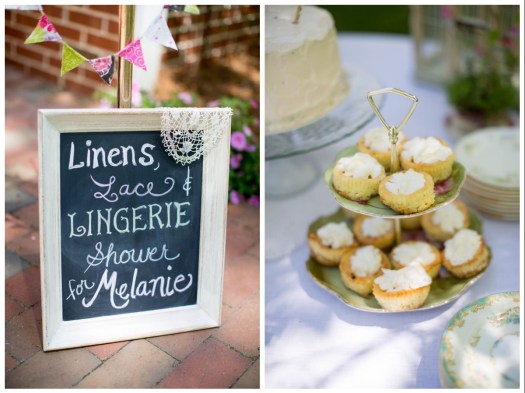 Bridal Shower Vintage Rentals NC