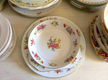 Grandmother Anne's vintage china pattern, Phyllis by Noritake