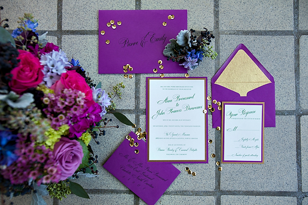 Mardi Gras Wedding Inspiration From The Graceful Host And Old
