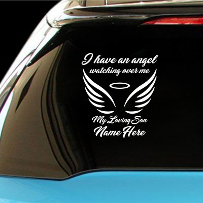 Angel Wings Vehicle Decal