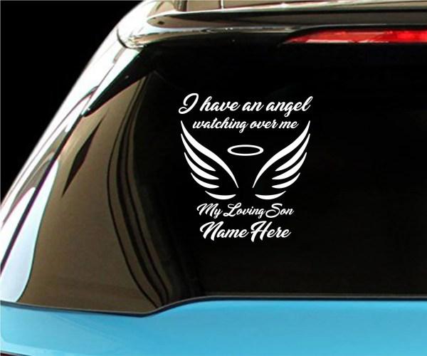 Angel Wings Vehicle Decal