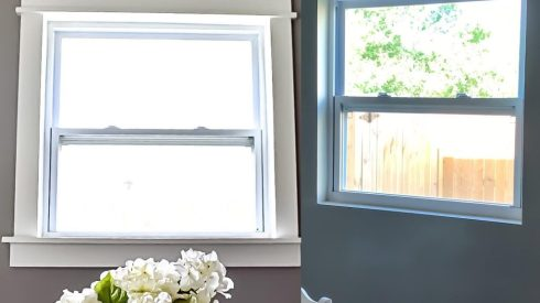 Nursey, window trim, window framing, molding, fancy trim, top 10 projects that add value to a home, adding value to your home, home improvement, home projects, diy home projects, room renovations, home renovations, paint