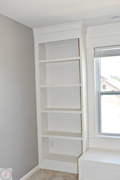 Room Renovation_ Office Week 3 bookcase
