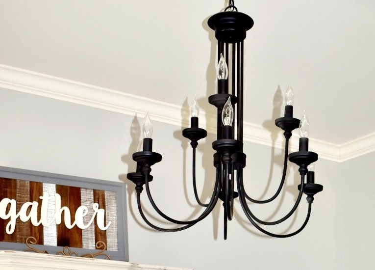 Farmhouse Lighting-Dinning room chandelier